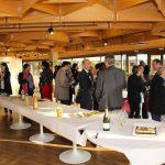 Réception conviviale pour l'inauguration du Bus Numérique Aquitaine